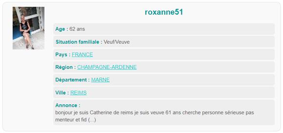 Rencontrez des femmes célibataires à Reims